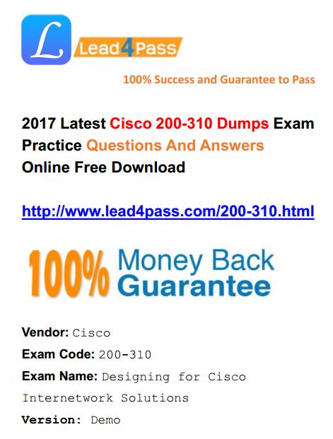 200-310 dumps