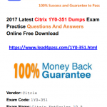 [100% Pass Rate] Useful Citrix CCP-N 1Y0-351 Dumps Exam Practice Questions And Answers Update Youtube Demo