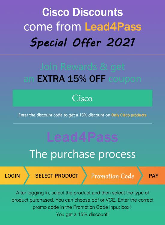 cisco discount code